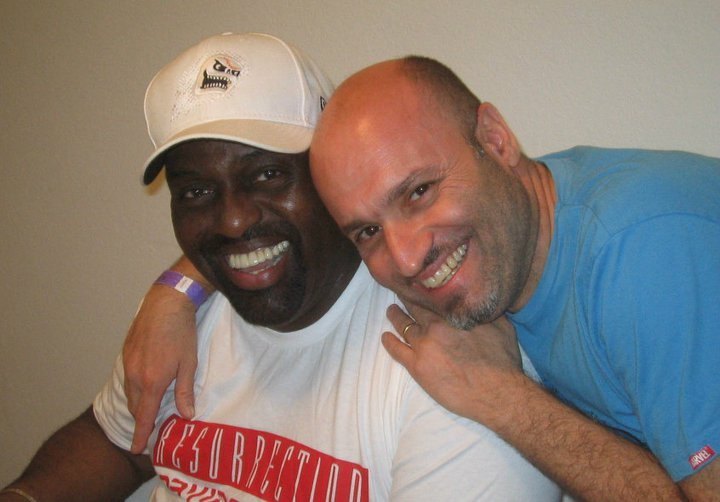 Corrado Rizza and Frankie Knuckles